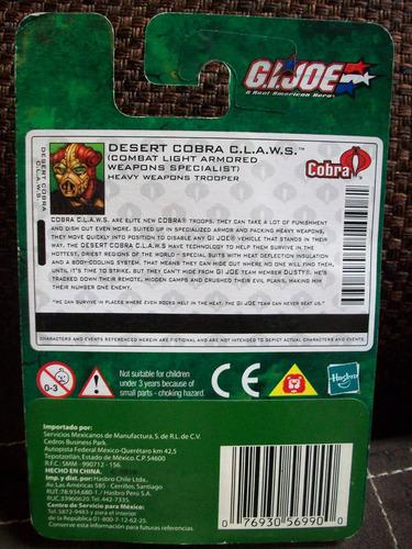 desert cobra c.l.a.w.s. g.i.joe