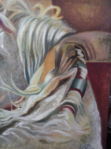 desert - cuadro decorativo al óleo