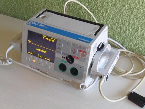desfibrilador bifasico zoll m series, con marcapasos