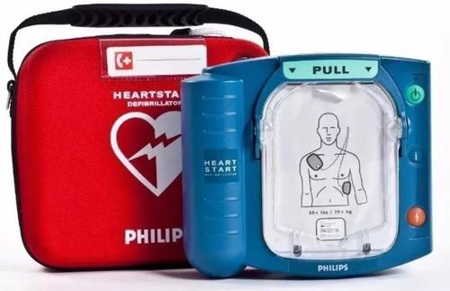 desfibrilator philips heartstart automatico