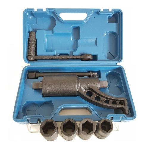 desforcimetro torqueador 580kg 1:58 c 4 soquetes 27 30 32 33