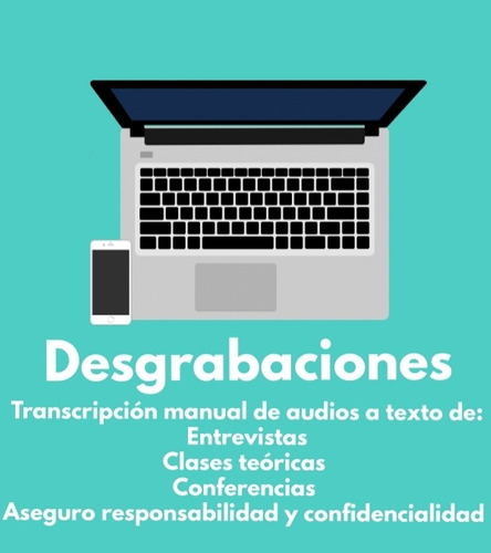 desgrabacion manual de audios a texto