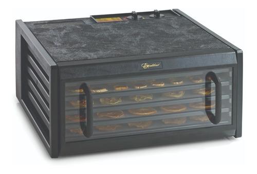 deshidratador de alimentos 5 charolas con timer y puerta transparente excalibur 3526tcdb