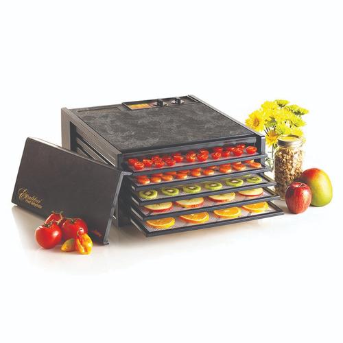 deshidratador de alimentos 5 charolas negro excalibur 3526tb