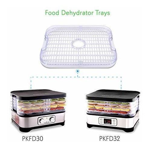 deshidratador de alimentos agregue una bandeja