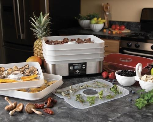 deshidratador de alimentos carne vegetales pulpa de frutas hamilton beach 5 niveles 120 volts 500 watts envio gratis