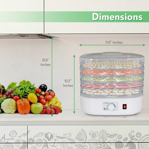 deshidratador de alimentos con encimera electrica