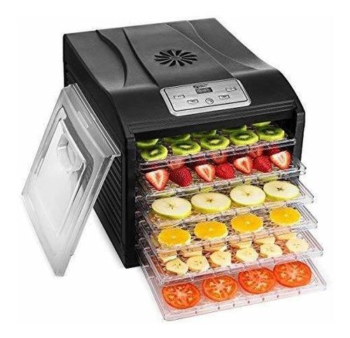 deshidratador de alimentos digital 6 bandeja magic mill