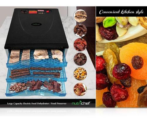 deshidratador de alimentos electrico de gran capacidad