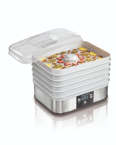 deshidratador de alimentos frutas carne hamilton beach 32100