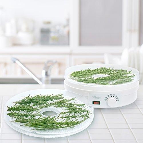 deshidratador de alimentos rosewill con 5 bandejas libre de