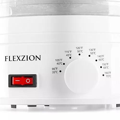 deshidratador para alimentos y frutas flexzion