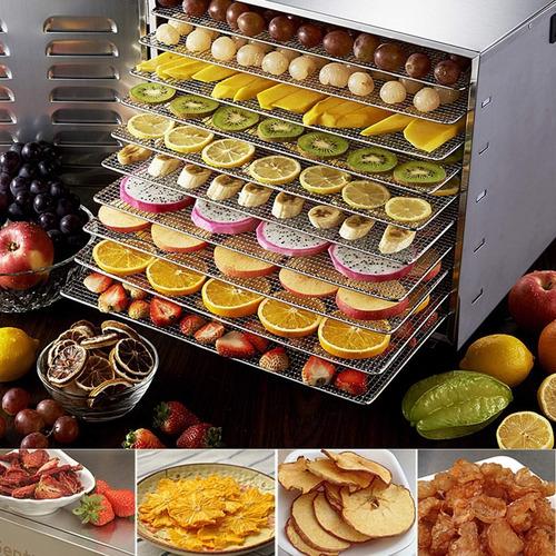 deshidratadora industrial de frutas alimentos 10 bandejas