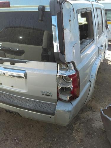 deshueso jeep commander 5.7 l hemi 4x4 por partes aspen