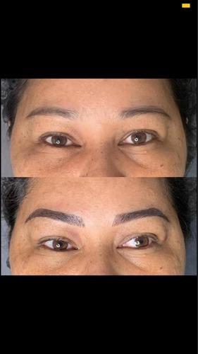 design e micropigmentação de sobrancelhas