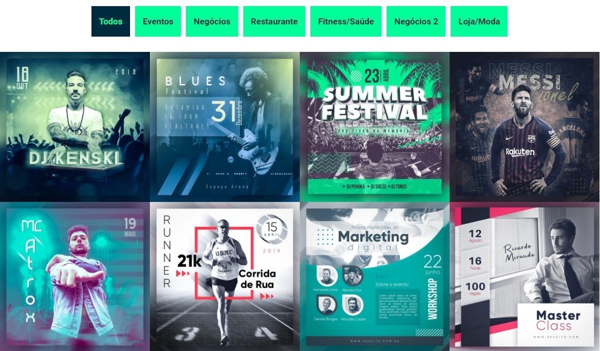 Design Grafico Para Social Media R 29 00 Em Mercado Livre