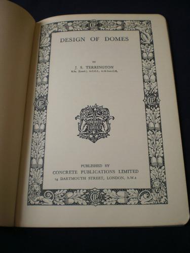 design of domes - j. s. terrington