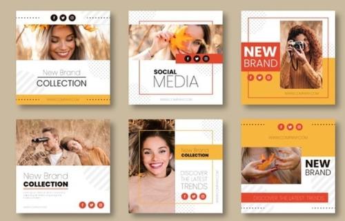 design photo profile + photo cover redes sociais