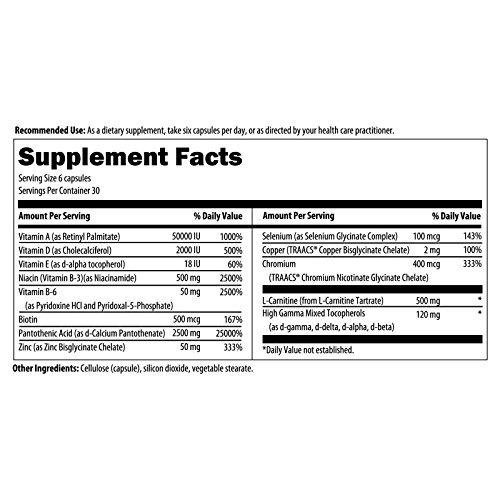designs for health - acnutrol natural acne support, 180 v