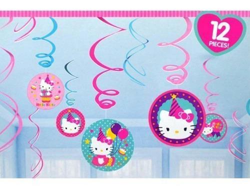 designware hello kitty birthday hanging swirl