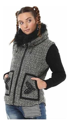 desigual chaqueta desigual gris xs nueva con envío