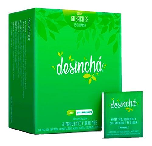 desinchá chá original - 60 sachês - chá emagrecedor