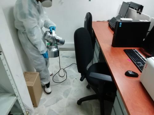 desinfección ambiental por nebulizaciòn domicilio