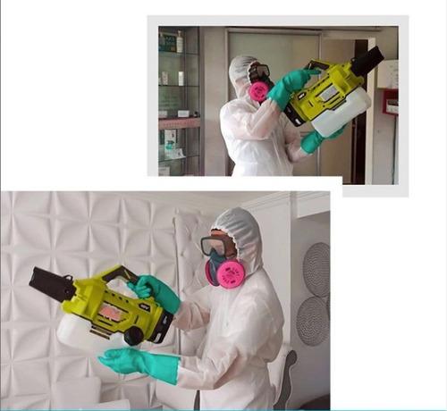 desinfección apartamentos casas hasta 120 metros cuadrados