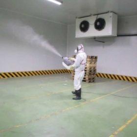 desinfección cámaras de frío, frigoríficas