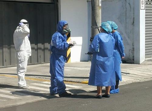 desinfección con amonio cuaternario