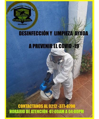 desinfección  contra el covid-19