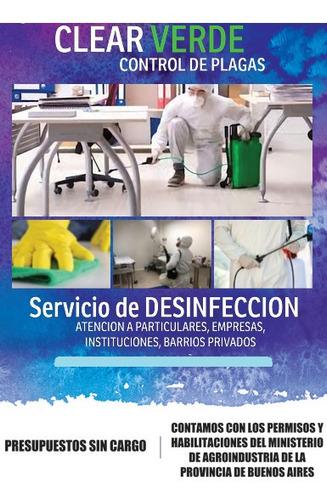 desinfeccion - control integral de plagas