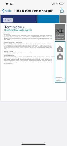 desinfección de amplio espectro para el hogar y oficina
