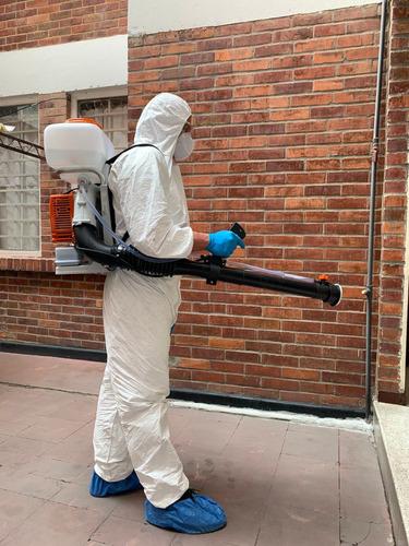 desinfección de aptos, casas, locales y empresas en toda bog
