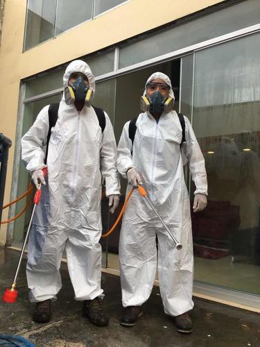 desinfección de casas