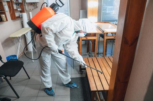 desinfeccion de cualquier area