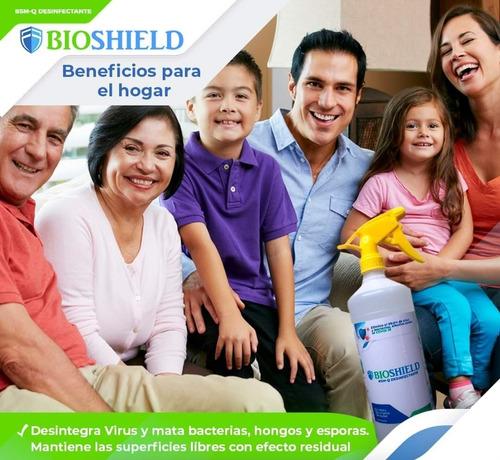 desinfección de inmuebles, hogar, vehículos e industria