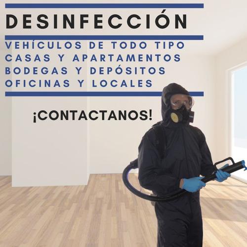 desinfección de instalaciones con amonio cuaternario