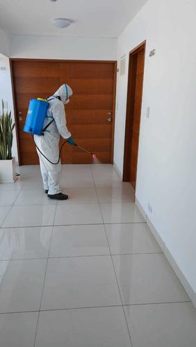 desinfección de vivienda locales comerciales y todo ambiente
