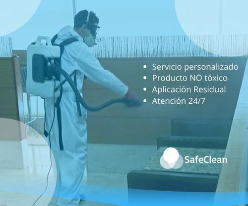desinfección especializada para hogares y oficinas