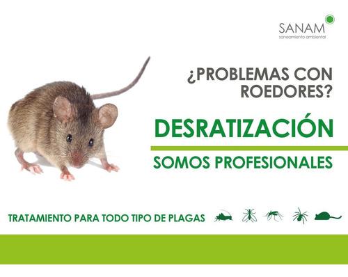 desinfección, fumigación control de plagas, roedores