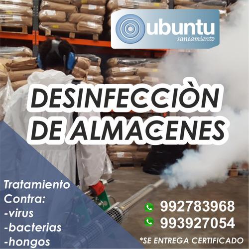 desinfección fumigacion de casas, empresas, locales