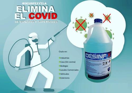 desinfeccion por termonebulizacion covid 19