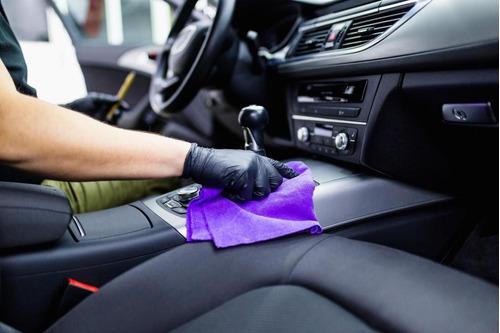 desinfección profesional interior de vehículos contra virus