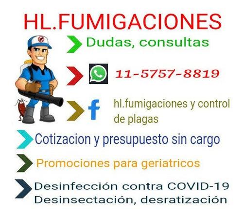 desinfección / servicio de fumigación