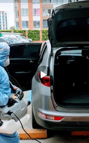desinfección técnica comercio, casas, vehículos.