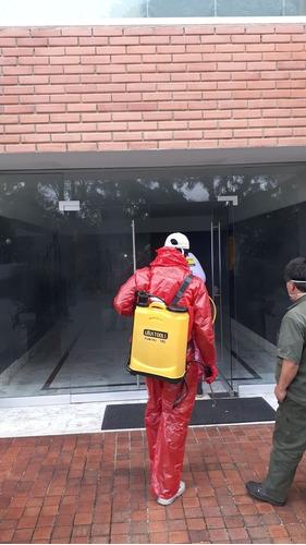desinfección virus y bacterias conjuntos, edificios oficinas