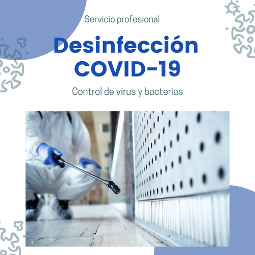 desinfección virus y bacterias - pandemia - fumigación cert