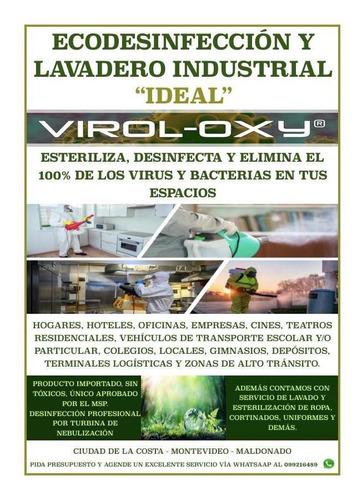 desinfección y esterilización de empresas y hogares