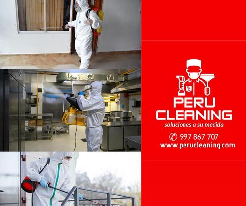 desinfeccion y fumig profesional de restaurantes s/1.00 x m2